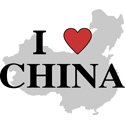 I Love China T-shirts