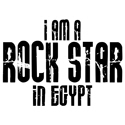 Rock Star In Egypt T-shirt