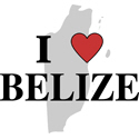 I Love Belize T-shirt