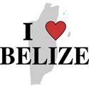 I Love Belize T-shirt