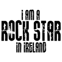 Rock Star In Ireland T-shirt