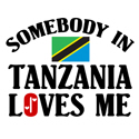 Somebody In Tanzania T-shirt