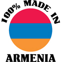 100% Made In Armenia T-shirt