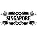 Tribal Singapore T-shirts