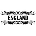 Tribal England T-shirt
