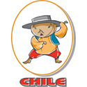 Cartoon Chile T-shirt
