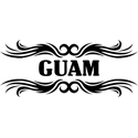 Tribal Guam T-shirts