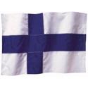 Wavy Finland Flag