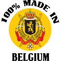 100% Made In Belgium