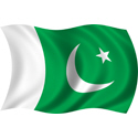 Wavy Pakistan Flag