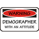 Demographer T-shirt, Demographer T-shirts