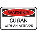 Attitude Cuban