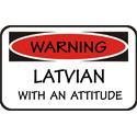 Attitude Latvian