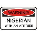 Attitude Nigerian