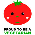 Proud To Be A Vegetarian T-shirt & Gift