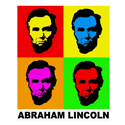 Colorful Abraham Lincoln