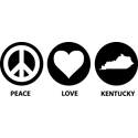 Peace Love Kentucky