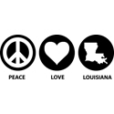 Peace Love Louisiana