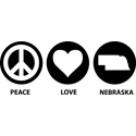 Peace Love Nebraska