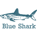 Vintage Blue Shark