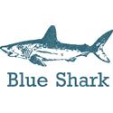 Vintage Blue Shark