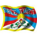 Wavy Free Tibet Flag