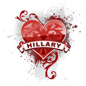 Heart Hillary
