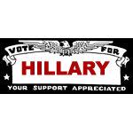 Retro Vote For Hillary