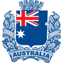 Stylish Australia Crest