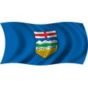 Wavy Alberta Flag