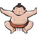 Japan Sumo Wrestler T-shirts & Gifts