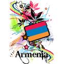 Flower Armenia T-shirt