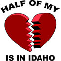 Heart In Idaho T-shirt