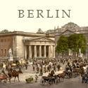 Vintage Berlin Street Scene