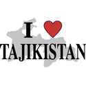 I Love Tajikistan Gifts