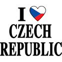 I Heart Czech Republic T-shirts