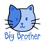 Cat Blue Big Brother