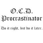 OCD Procrastinator