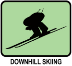 Downhill Skiing (GREEN)