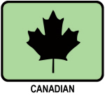 Canadian (GREEN)