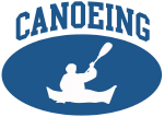 Canoeing (blue circle)