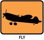 Fly (orange)