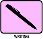 Writing (pink)