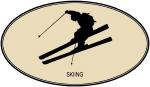 Skiing  (euro-brown)