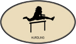 Hurdling (euro-brown)