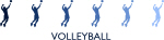 Mens Volleyball (blue variation)