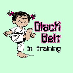 Black Belt in Training