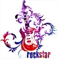 Rock Star Grunge Guitar