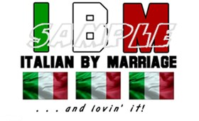 Italian By Marriage - and lovin' it!