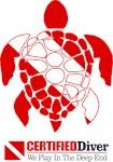 Turtle Dive Flag